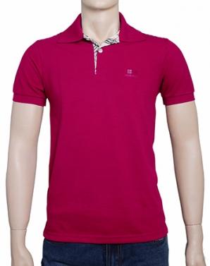 Áo thun nam Burberry màu hồng sen - A9778