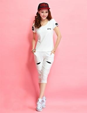 Bộ đồ thể thao Every màu trắng - B0310