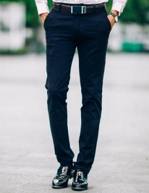 Quần kaki nam màu xanh đen - B0422