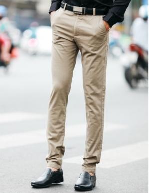 Quần kaki nam màu gi - B0423