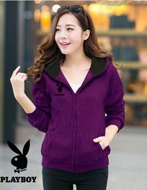 Áo khoác nữ PLAYBOY màu tím - B1613