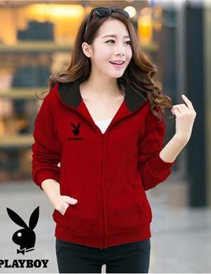 Áo khoác nữ PLAYBOY màu đỏ - B1616