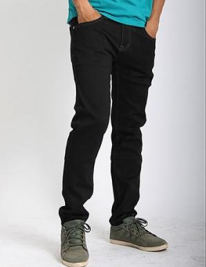 Quần jean nam skinny màu đen - B1929