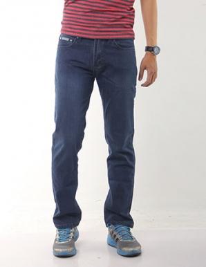 Quần jean nam suông màu xanh - B1930