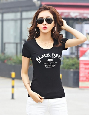 Áo thun teen BLACK BEE màu đen - B2261