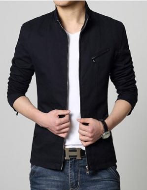 Áo khoác nam Kaki màu đen - B2964
