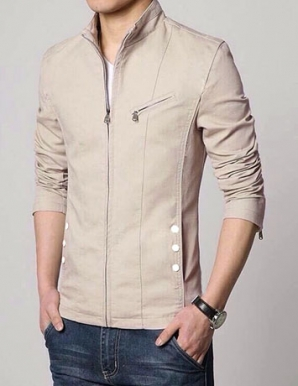 Áo khoác nam Kaki màu da - B2966