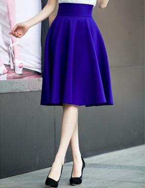 Chân váy xòe vintage - B2979