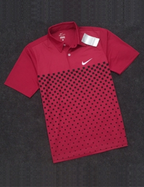 Áo thun thể thao nam in logo Nike màu đỏ - B3595