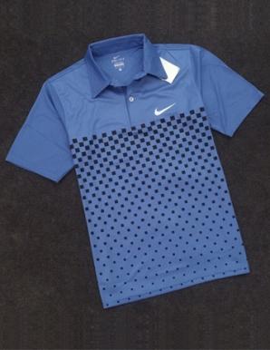 Áo thun thể thao nam in logo Nike màu xanh dương - B3599