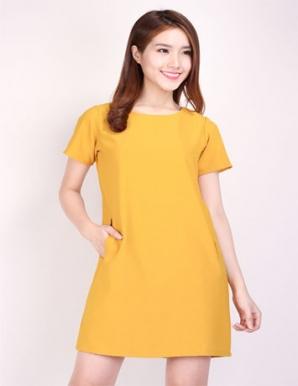 Đầm Suông Túi Mổ Cao Cấp - B3868