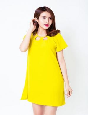 Đầm Overside Cổ Cách Điệu Sang Trọng - B3930