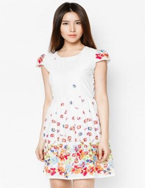 Đầm Kate Hoa - B3955
