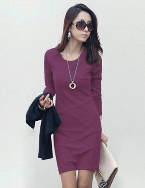 Đầm ôm body tay dài thời trang - B4078