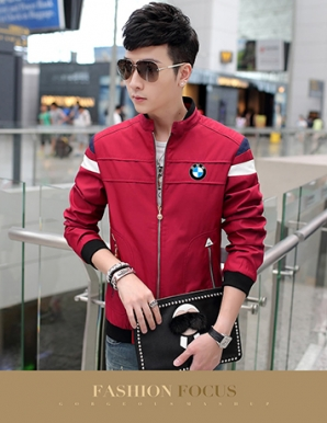 Áo khoác kaki nam màu đỏ - B4711