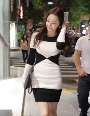 Đầm len cách điệu cá tính  - B4900