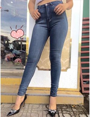 Quần jean trơn cá tính hotgirl - B5091