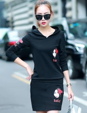 Set áo váy Mickey màu đen - B5187