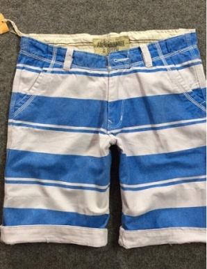 Quần short nam kẻ sọc ngang màu xanh dương - B6788