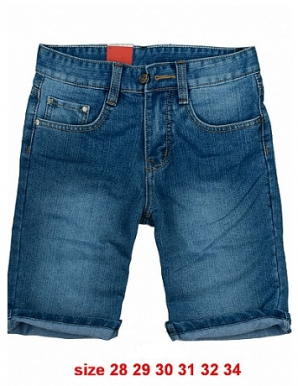 Quần short jean nam - B6834