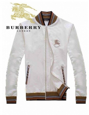 Áo khoác nam kaki thái màu trắng phối viền - B6846
