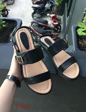 Giày sandal bệt bánh mì vnxk- B7601