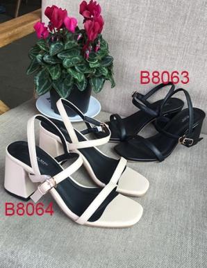 Giày sandal quai mảnh đế vuông vnxk- B8063